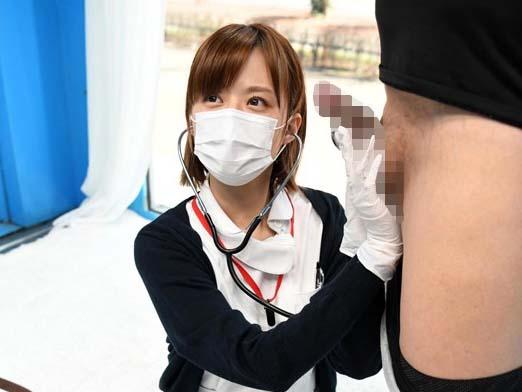 【マジックミラー号】「ボッキが止まりません。治してください!!」美人看護師に勃起が止まらないことを伝えたら優しく治療してくれたwwwww
